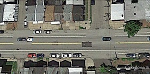 Intersections at 39th St. and at Manion Way